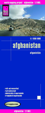 Buy map Afghanistan by Reise Know-How Verlag