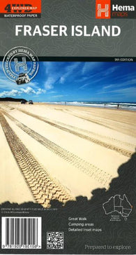 Buy map Fraser Island, Australia, 9th edition by Hema Maps