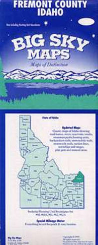 Buy map Fremont County, Idaho by Big Sky Maps