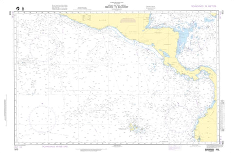 Buy map Mexico to Ecuador (NGA-503-4) by National Geospatial-Intelligence Agency