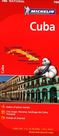 Buy map Cuba (786) by Michelin Maps and Guides