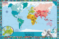 Buy map World Wall Map, Childrens by Michelin Travel Partner