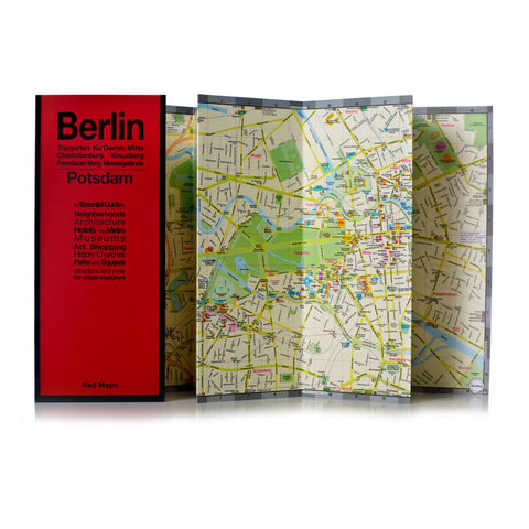 Buy map Berlin and Potsdam, Germany by Red Maps