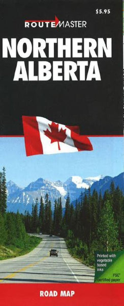 Buy map Alberta, Northern by Route Master