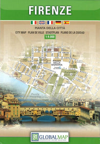 Buy map Florence, Italy, Complete City by Litografia Artistica Cartografica