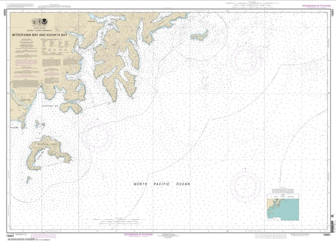 Buy map Mitrofania Bay And Kuiukta Bay (16561-4) by NOAA