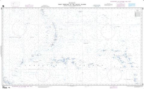 Buy map Trust Territory Of The Pacific Islands (NGA-525-3) by National Geospatial-Intelligence Agency