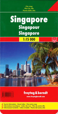 Buy map Singapore by Freytag-Berndt und Artaria