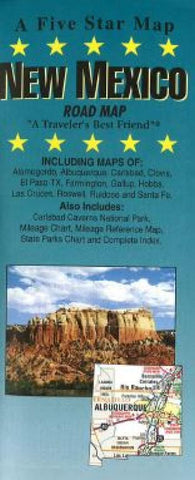 Buy map New Mexico by Five Star Maps, Inc.