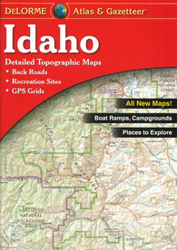 Buy map Idaho Atlas and Gazetteer by DeLorme