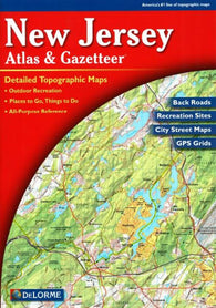 Buy map New Jersey Atlas and Gazetteer by DeLorme