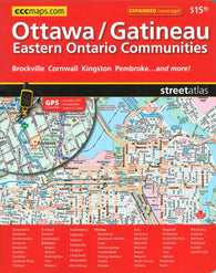 Buy map Ottawa Gatineau and Eastern Ontario Communities Street Atlas by Canadian Cartographics Corporation