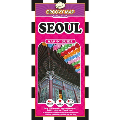 Buy map Seoul, South Korea, Map n Guide by Groovy Map Co.