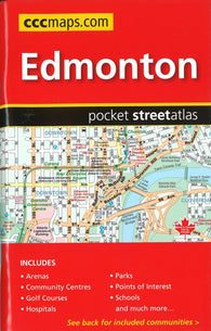 Buy map Edmonton AB Pocket Street Atlas by Canadian Cartographics Corporation