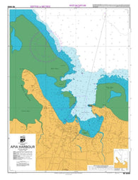 Buy map APIA HARBOUR (8655) by Land Information New Zealand (LINZ)