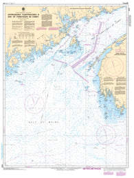 Buy map Approaches to/Approches a Bay of Fundy/Baie de Fundy by Canadian Hydrographic Service