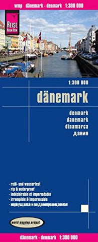 Buy map Denmark by Reise Know-How Verlag