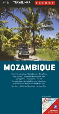 Buy map Mozambique Travel Map by New Holland Publishers