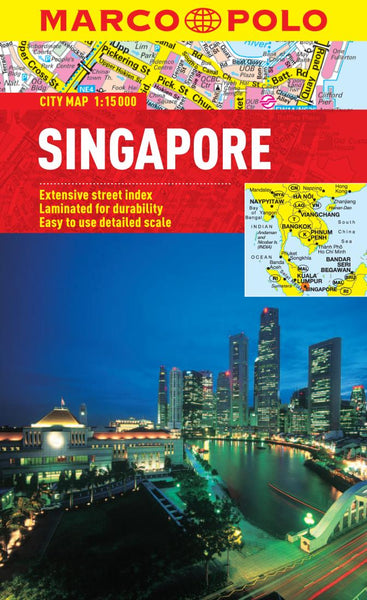 Buy map Singapore by Marco Polo Travel Publishing Ltd