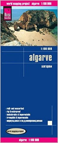 Buy map Algarve, Portugal by Reise Know-How Verlag