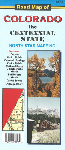 Buy map Road Map of Colorado: the Centennial State by North Star Mapping