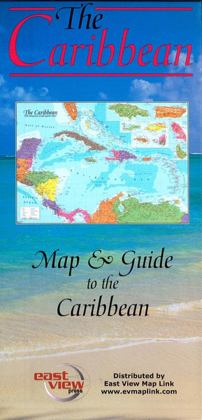 Buy map Caribbean by East View Press