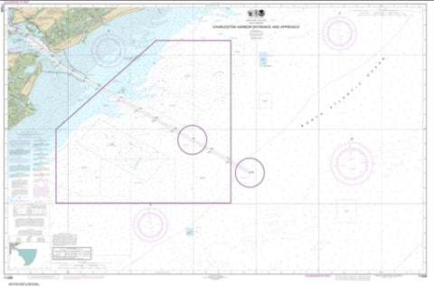 Buy map Charleston Harbor Entrance and Approach (11528-1) by NOAA