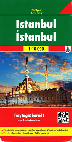 Buy map Istanbul, Turkey by Freytag-Berndt und Artaria