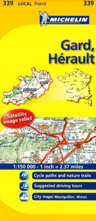 Buy map Gard, Herault (339) by Michelin Maps and Guides