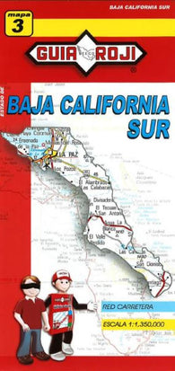 Buy map Baja California Sur, Mexico, State Map by Guia Roji