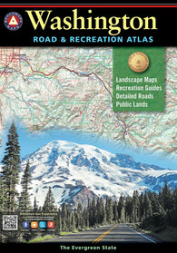 Buy map Washington Road and Recreation Atlas by Benchmark Maps