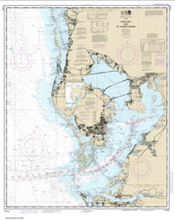 Buy map Tampa Bay and St. Joseph Sound (11412-46) by NOAA