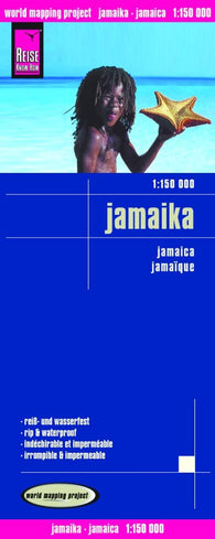 Buy map Jamaica by Reise Know-How Verlag