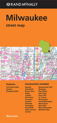 Buy map Milwaukee, Wisconsin by Rand McNally