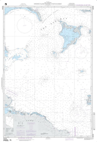 Buy map Crooked Island Passage To Punta De Maisi (NGA-26240-7) by National Geospatial-Intelligence Agency