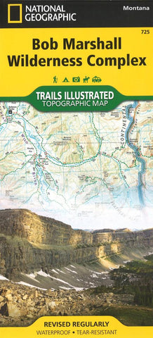 Buy map Bob Marshall Wilderness Complex Topographic Map by National Geographic Maps
