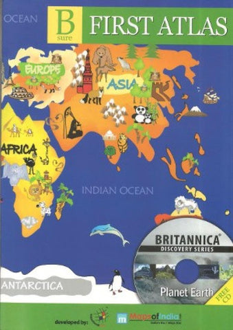 Buy map Bsure Childrens First Atlas by Maps of World