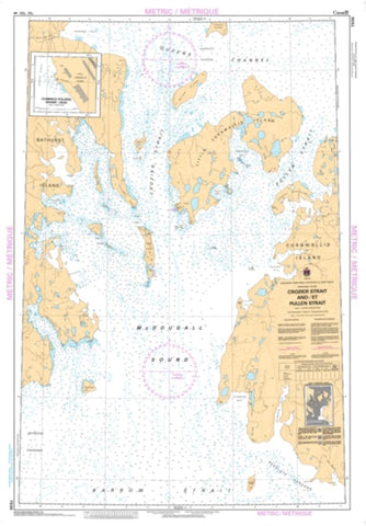 Buy map Crozier Strait and/et Pullen Strait by Canadian Hydrographic Service