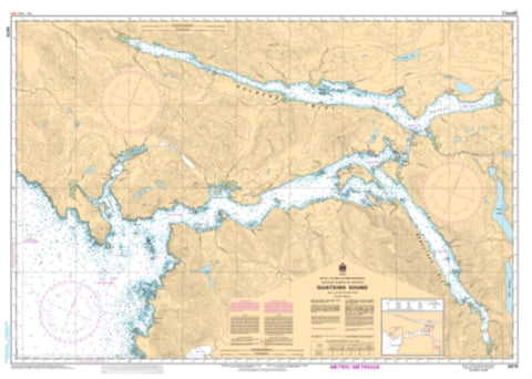 Buy map Quatsino Sound by Canadian Hydrographic Service