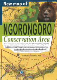 Buy map Ngorongoro Conservation Area by GT Maps