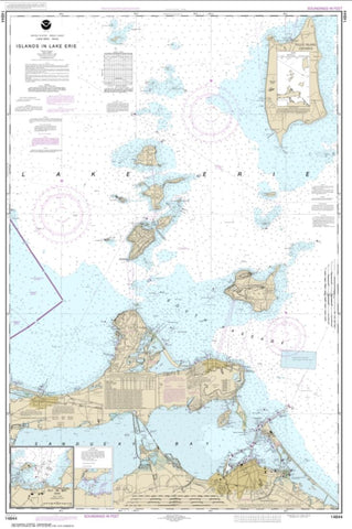 Buy map Islands in Lake Erie; Put-In-Bay (14844-32) by NOAA