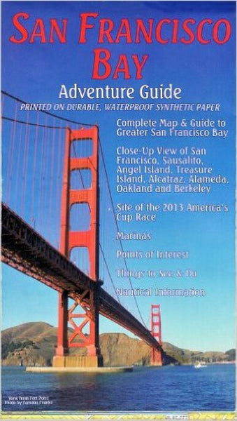 Buy map San Francisco Bay Adventure Guide, Folded by Frankos Maps Ltd.
