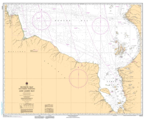 Buy map Hudson Bay (Southern Portion) and James Bay by Canadian Hydrographic Service