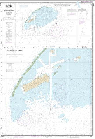 Buy map Johnston Atoll; Johnston Island Harbor (83637-5) by NOAA