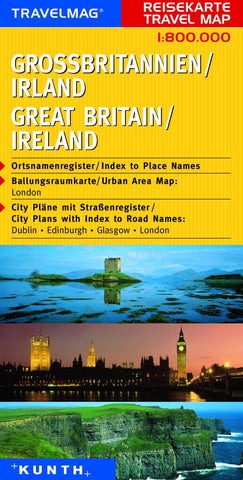 Buy map Great Britain and Ireland by Kunth Verlag