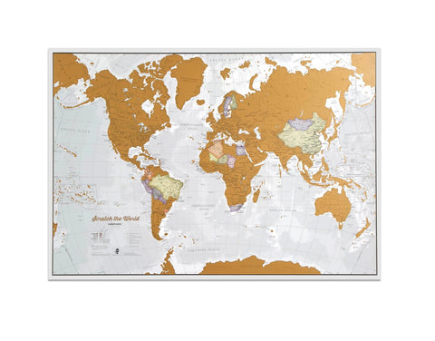 Buy map Scratch the World by Maps International Ltd.