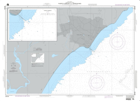Buy map Puerto Cabezas And Approaches (NGA-28104-2) by National Geospatial-Intelligence Agency