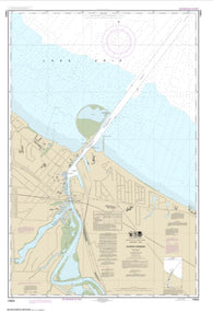 Buy map Huron Harbor (14843-24) by NOAA