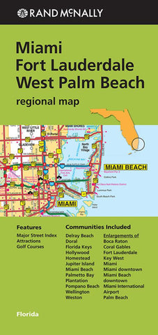 Buy map Florida, Southern, Regional by Rand McNally