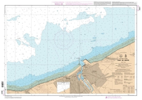 Buy map Port de Dieppe by SHOM
